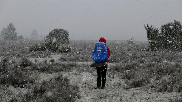 E1 - Heavy snowfall, Wilsede