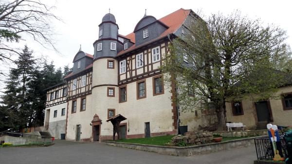 """hostel """"Schloss Martinfeld""""."""